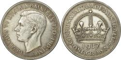 World Coins - Coin, Australia, George VI, Crown, 1937, Melbourne, , Silver, KM:34
