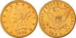 Us Coins - Coin, United States, Coronet Head, $10, Eagle, 1889, U.S. Mint, San Francisco