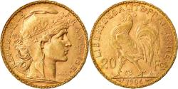 Ancient Coins - Coin, France, Marianne, 20 Francs, 1904, Paris, , Gold, KM:847