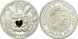 World Coins - Coin, Niue, Elizabeth II, Dollar, 2010, Warsaw, , Silver, KM:429