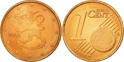 World Coins - Finland, Euro Cent, 2003, , Copper Plated Steel, KM:98