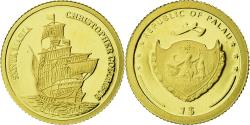 World Coins - Coin, Palau, Christophe Colomb, Dollar, 2007, , Gold, KM:337