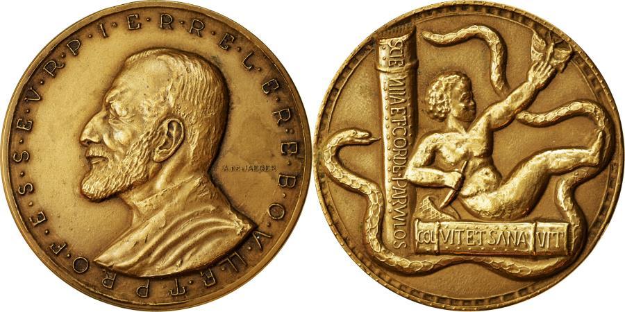 World Coins - France, Medal, Professeur Pierre Lereboullet, Medicine, De Jaeger,