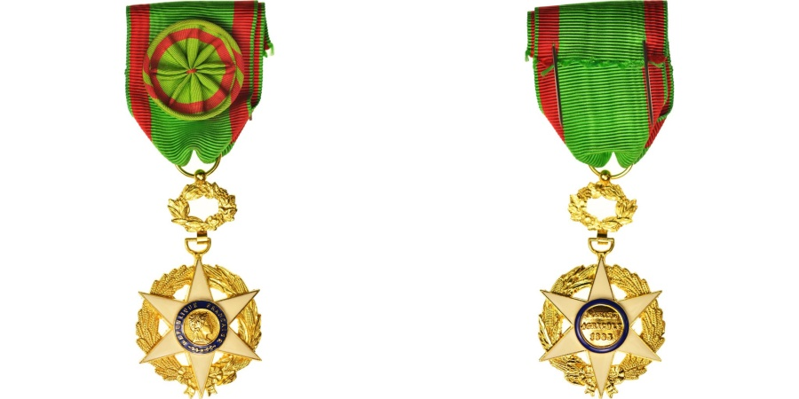 World Coins - France, Médaille du Mérite Agricole, Medal, Uncirculated, Bronze, 36