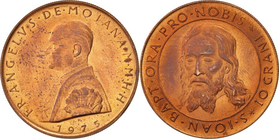 World Coins - MALTA, ORDER OF, Angelo de Mojana di Cologna, 2 Scudi, 1975