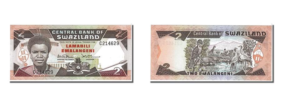 World Coins - Swaziland, 2 Emalangeni, 1986, KM #13a, UNC(65-70), C214629
