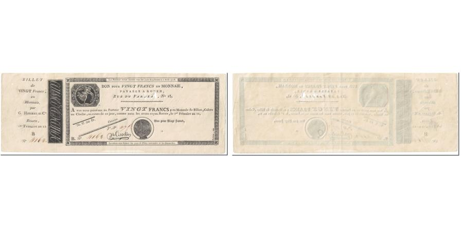 World Coins - France, 20 Francs, 1803, Osselin, 1er Frimaire AN 12 - (23.11.1803)., avec
