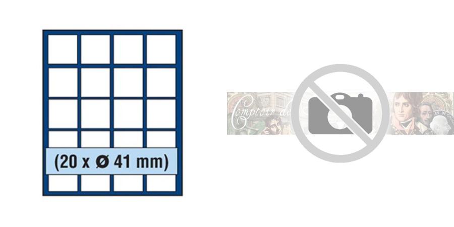 World Coins - Box, Nova Exquisite, Blue, 20 x 41 mm, Safe:6841