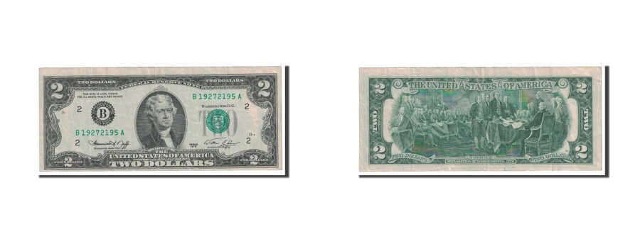 US Coins - United States, Two Dollars, 1976, KM:1628, Undated, EF(40-45)