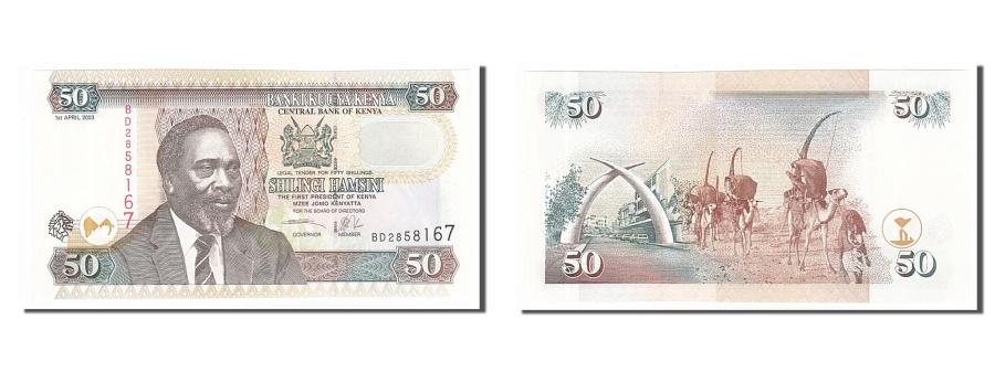 World Coins - Kenya, 50 Shillings, 2003, KM #41a, 2003-04-01, UNC(65-70), BD2858167