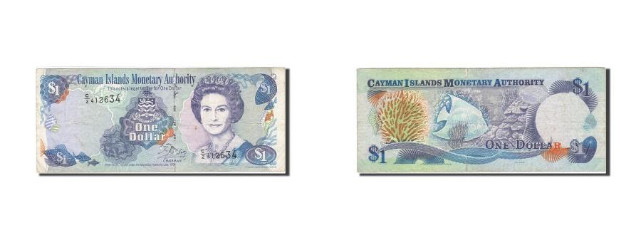 World Coins - Cayman Islands, 1 Dollar, 1998, 1998, KM:21b, VF(20-25)