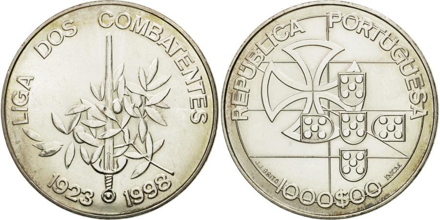 World Coins - Coin, Portugal, 1000 Escudos, 1998, Lisbon, , Silver, KM:714