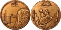 World Coins - France, Medal, Saint-Tropez, Arts & Culture, XXth Century, MS(65-70), Bronze