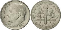 Us Coins - United States, Roosevelt Dime, Dime, 1969, U.S. Mint, Denver, AU(55-58)