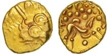 Ambiani, Area of Amiens, Stater, AU(50-53), Gold, Delestré:161