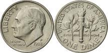 Us Coins - United States, Roosevelt Dime, Dime, 1988, U.S. Mint, Philadelphia, AU(55-58)