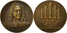 World Coins - France, Medal, Jean Sébastien Bach (1685-1750), Coudray, EF(40-45), Bronze