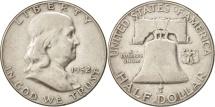 Us Coins - United States, Franklin Half Dollar, Half Dollar, 1952, U.S. Mint, Philadelphia