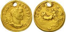Ancient Coins - Carus, Aureus, Kyzikos, VF(20-25), Gold, RIC:116