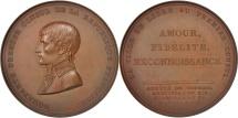 World Coins - France, Medal, La ville de Lille à Napoléon Bonaparte, 1803, MS(60-62), Bronze