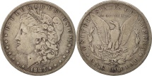Us Coins - United States, Morgan Dollar, Dollar, 1883, U.S. Mint, New Orleans, VF(20-25)