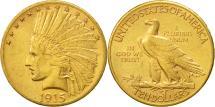 Us Coins - United States, Indian Head, $10, 1915, Philadelphia, AU(55-58), Gold, KM:130