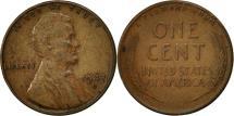 Us Coins - United States, Lincoln Cent, Cent, 1947, U.S. Mint, Denver, EF(40-45), Brass