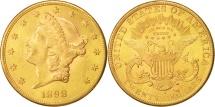 Us Coins - United States, Liberty Head, $20, Double Eagle, 1898, San Francisco, KM:74.3