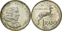 World Coins - South Africa, Rand, 1965, AU(55-58), Silver, KM:71.1
