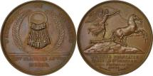 World Coins - France, Medal, Napoleon Ier , Bataille de Marengo, 1800, Denon, MS(60-62)