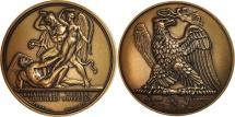 World Coins - France, Medal, Bataille de Wagram, History, MS(65-70), Bronze