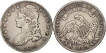 Us Coins - United States, Capped Bust, Half Dollar, 1836, U.S. Mint, Philadelphia