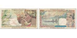 World Coins - Banknote, Réunion, 20 Nouveaux Francs on 1000 Francs, 1967, Undated (1967)