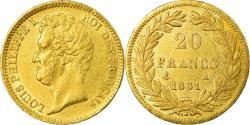 World Coins - Coin, France, Louis-Philippe, 20 Francs, 1831, Paris, , Gold, KM:739.1