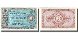 World Coins - Banknote, Germany, 10 Mark, 1944, KM:194a, UNC(65-70)
