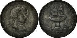 World Coins - France, Medal, Baptème de Napoléon Eugène Louis, 1856, Labouche, VF(20-25)