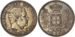 World Coins - Coin, Portugal, Carlos I, 500 Reis, 1893, , Silver, KM:535