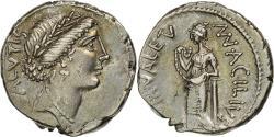 Ancient Coins - Acilia, Denarius, Rome, , Silver, Crawford:442/1a