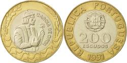 World Coins - Portugal, 200 Escudos, 1991, , Bi-Metallic, KM:655