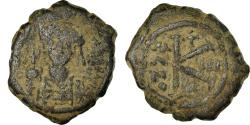 Ancient Coins - Coin, Maurice Tiberius, Half Follis, 584-585, Constantinople, , Copper
