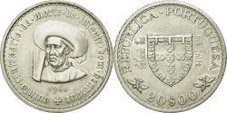 World Coins - Coin, Portugal, 20 Escudos, 1960, MS(60-62), Silver, KM:589