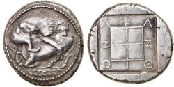 Ancient Coins - Coin, Macedonia, Akanthos, Tetradrachm, 470-430 BC, , Silver
