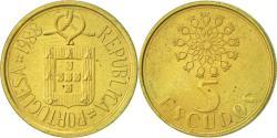 World Coins - Portugal, 5 Escudos, 1988, , Nickel-brass, KM:632