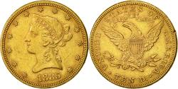 Us Coins - Coin,United States,Coronet Head,$10,Eagle,1885,Philadelphia,EF(40-45),KM 102