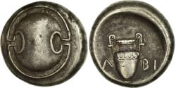Ancient Coins - Coin, Boeotia, Thebes, Stater, 363-338 BC, , Silver, BMC:150