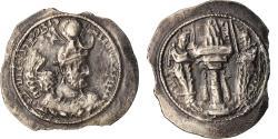 Ancient Coins - Coin, Sasanian Kings, Yazdgard I, Drachm, AS (Aspahan), , Silver