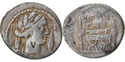 Ancient Coins - Coin, Furia, Denarius, 63 BC, Rome, , Silver, Crawford:414/1