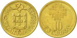 World Coins - Portugal, 10 Escudos, 1998, , Nickel-brass, KM:633