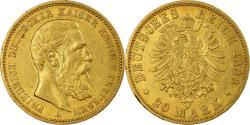 World Coins - Coin, German States, PRUSSIA, Friedrich III, 20 Mark, 1888, Berlin,