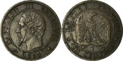 World Coins - Coin, France, Napoleon III, Centime, 1855, Strasbourg, , KM 775.3